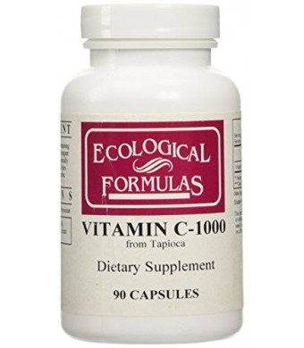 Ecological Formulas - Vitamin C-1000 from Tapioca 90 caps [Health and Beauty]