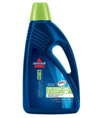 BISSELL 2X Pet Stain and Odor Full Size Machine Formula, 48 ounces, 99K57