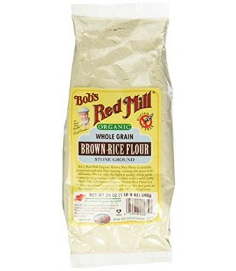 Bob's Red Mill Organic Brown Rice Flour - 24 oz