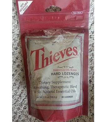 Thieves Hard Lozenges by Young Living Essential Oils - 30 Lozenges