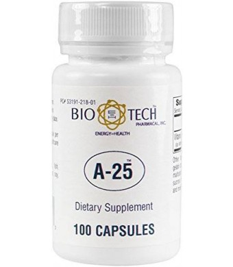 Bio-Tech Pharmacal BioTech Pharmacal - A-25 (Vitamin A) - 100 Count
