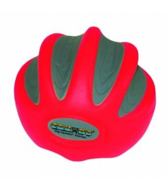 CanDo 10-1991 Digi-Squeeze Hand Exerciser, Large, Red-Light