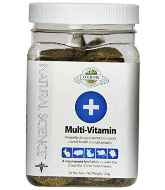 Oxbow Natural Science - Multi-Vitamin Supplement, 60 Count
