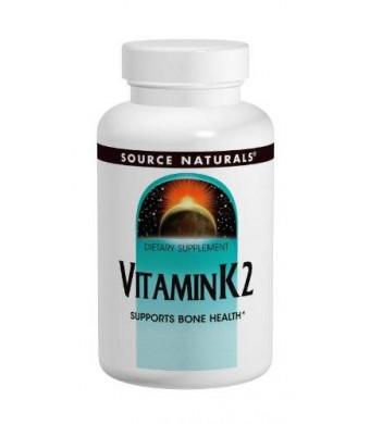 Source Naturals Vitamin K2 100mcg, 60 Tablets