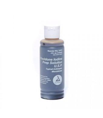 Dynarex Pvp Povidone Iodine Disinfecting Solution 4 oz