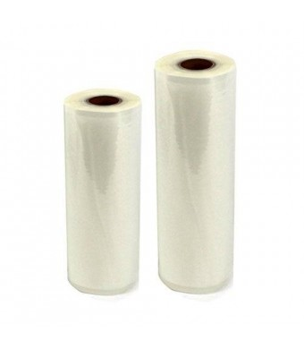 "2 Weston Rolls! One 8"" X 50' and One 11"" X 50' Roll Vacuum Sealer Bags"