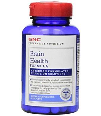 GNC Preventive Nutrition Brain Health Formula