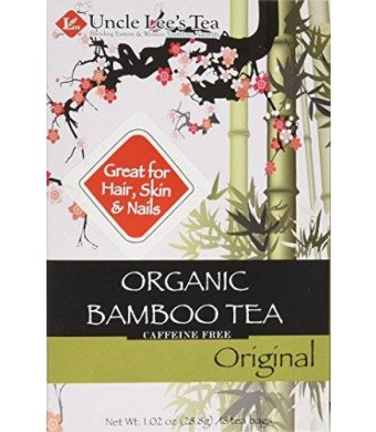 Uncle Lee's Tea Uncle Lees Tea Organic Tea, Bamboo Original, 18 Count