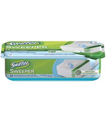 Swiffer Sweeper Wet Mopping Cloth Refill - Open Window Fresh - 24 ct