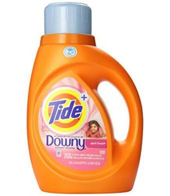 Tide + Downy Detergent April Fresh - 24 Loads