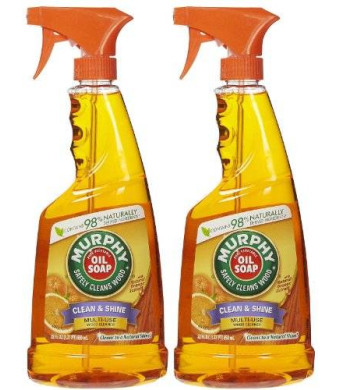 Murphy Oil Multi-Use Wood Cleaner Spray with Orange Oil - 22 oz - 2 pk