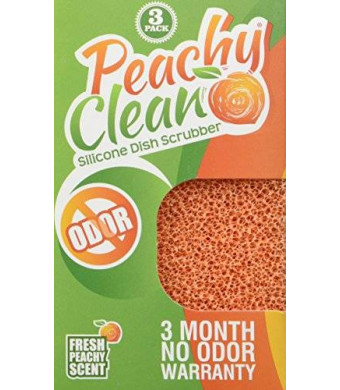 Peachy Clean Silicone Dish Scrubber (3 Pack)