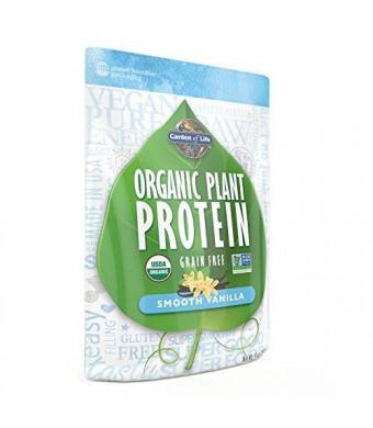 Garden of Life Organic Plant Protein, Smooth Vanilla, 260 Gram