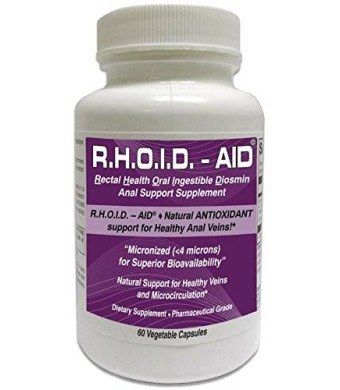 R.H.O.I.D - AID R.H.O.I.D. - AID   100% Natural Hemorrhoid Treatment and Anal Support Supplement