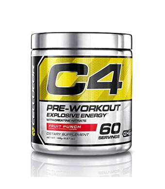 Cellucor - C4 Fitness Training Pre-Workout Supplement for Men and Women - Enhance Energy and Focus with Creatine Nitrate and Vitamin B12