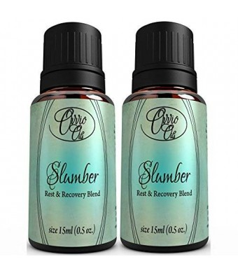 Slumber Rest and Recovery Blend by Ovvio Oils (2 Pack) Buy 2 and Save 20%!! Naturally Fight Insomnia