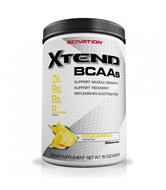 Scivation Xtend Pineapple 30 Servings, 15.1 oz