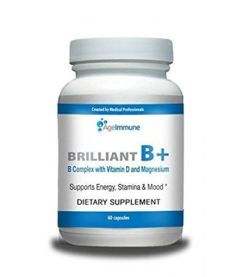 Age Immune Doctor Formulated Vitamin B Supplements Complex with B12