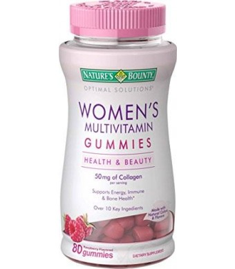 Nature's Bounty Natures Bounty Optimal Solutions Women's Multivitamin Gummies, 80 Count