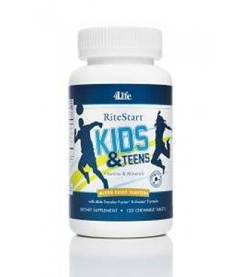 4life Ritestart Kids and Teens, 120 Chewable Tablets