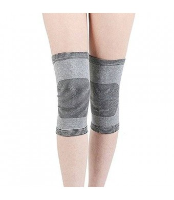 LightStep Bamboo Charcoal Knee Support Brace Compression Sleeve
