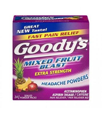 Goody's Headache Powder, Mixed Fruit Blast, 24 Count