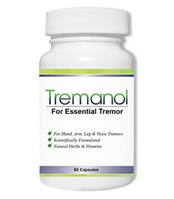 Tremanol - Natural Aid for Essential Tremor - Provides Relief for Shaky Hands