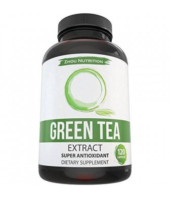 Zhou Nutrition Green Tea Extract Supplement for Weight Loss