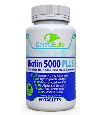 DermaSafe Biotin 5000 PLUS - Hair