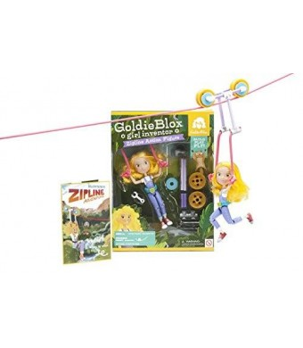 GoldieBlox Zipline Action Figure