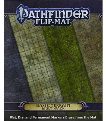 Paizo Publishing Pathfinder Flip-Mat: Basic Terrain Multi-Pack