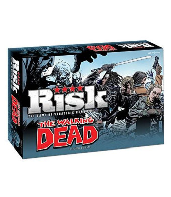 USAopoly The Walking Dead Risk: Survival Edition