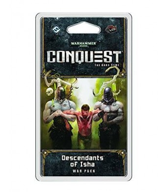 Fantasy Flight Games Warhammer 40K Conquest LCG: Descendants of Isha War Pack