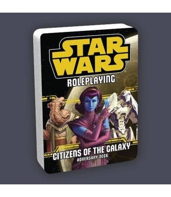 Fantasy Flight Games Star Wars Roleplaying: Citizens of the Galaxy Adversary Deck