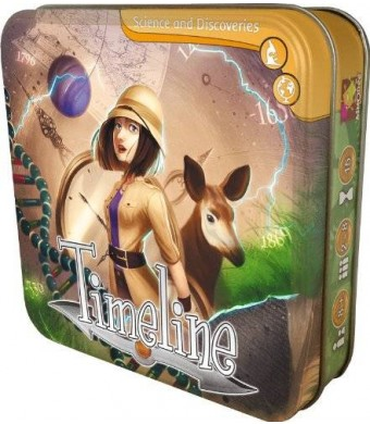 Asmodee Timeline Discoveries Card Game