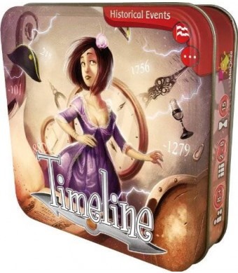 Asmodee Timeline Historical Events Card Game