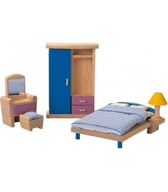 PlanToys Plan Toy Doll House Bedroom - Neo Style