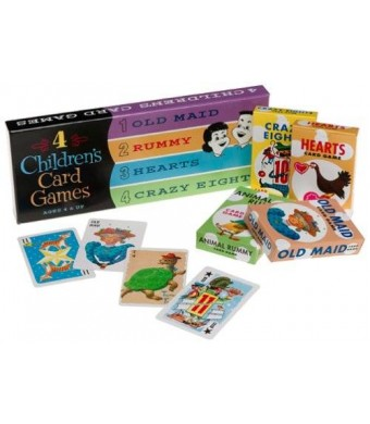 Think Fun ThinkFun 4 Children's Card Games