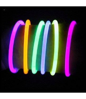 "300 8"" Lumistick Brand Glow Light Stick Bracelets WHOLESALE PACK"
