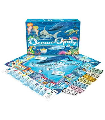 Late for the Sky Ocean-Opoly Monopoly Board Game