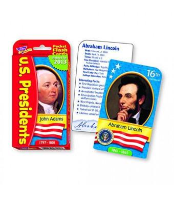 Trend Enterprises Inc US Presidents Pocket Flash Cards