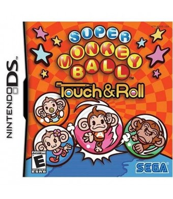 Sega Super Monkey Ball Touch and Roll - Nintendo DS