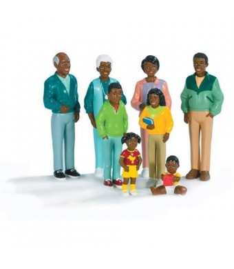 Marvel Education Company Pretend and Play Family - African-American