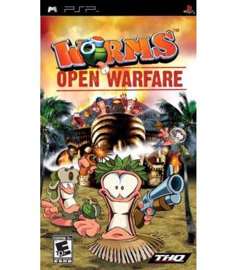 Worms Open Warfare - Sony PSP