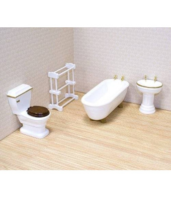Melissa & Doug Melissa and Doug Deluxe Doll - House Bathroom Furniture