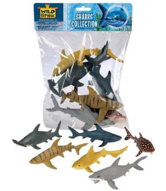 Wild Republic Polybag Sharks