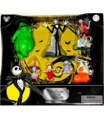 Disney Tim Burton's Nightmare Before Christmas Figurine Figure Set