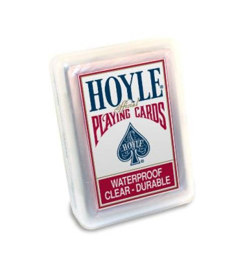 Hoyle Clear Plastic Playing Cards