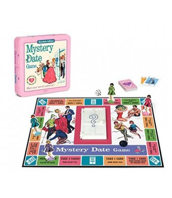 Winning Solutions Mystery Date Classic Board Game With Nostalgic Tin Case