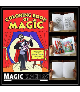 Magic Makers Color Changing Book - Easy Magic Trick (Magic Coloring Book)